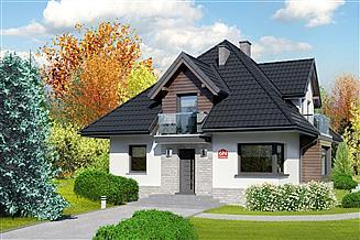 Projekt domu Dom przy Sielskiej 6 N