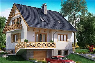 Gotowe Projekty Domów Z Garażem Podziemnym Gwarancja Najniższej
