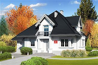 Projekt domu Dom przy Sielskiej 7