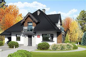 Projekt domu Dom przy Sielskiej 7 N
