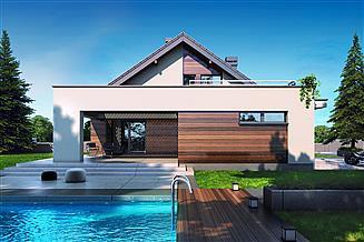 Projekt domu Gusto II 2G+