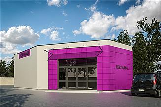 Projekt budynku biurowego G359 - Budynek magazynowo - biurowy