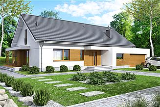 Projekt domu Bianco 2 modern