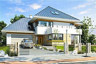 Projekt domu Dom z widokiem 2 C