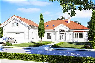 Projekt domu Rezydencja Parkowa 3 D
