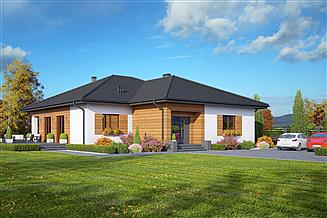 Projekt domu Arkowo biuro w domu