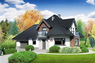 Projekt domu Dom przy Sielskiej 8 N