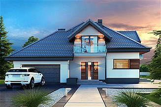 Projekt domu Alicja N 2G+
