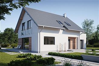 Projekt domu N8-G1