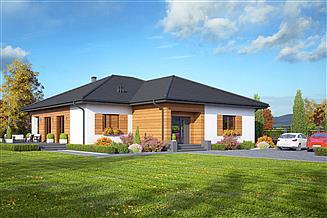 Projekt domu Arkowo senior
