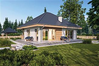 Projekt domu Murator C444e Czterolistna koniczyna - wariant V