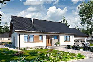 Projekt domu Tamara modern G2