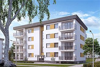 Projekt budynku wielorodzinnego Akant 3 Budynek wielorodzinny