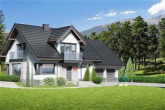 Projekt domu Dom przy Cyprysowej 15 DN2