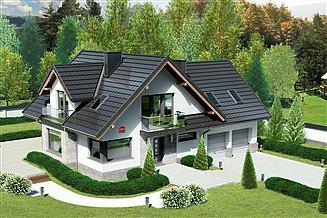 Projekt domu Dom przy Cyprysowej 15 K4