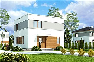 Projekt domu Egon II bez garażu [B]