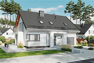 Projekt domu APS 303