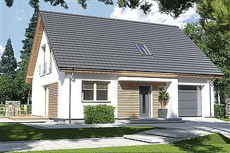 Projekt domu Harmonia Nova A garaż