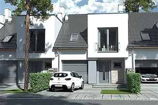 Projekt domu Andrea segment środkowy