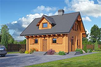 Projekt domu Gródkowo dw