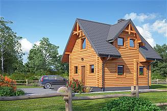 Projekt domu Gajówek dw