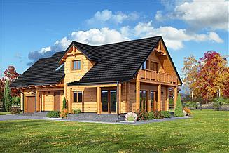 Projekt domu Osiek 43 dw