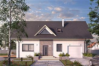Projekt domu Bez 3