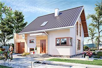 Projekt domu Nadar Bobo - murowana – beton komórkowy