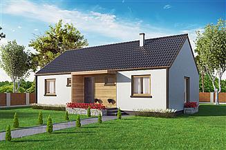 Projekt domu Domek Pani Darii (047 ES)