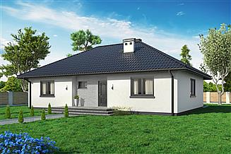 Projekt domu Domek Mokka (053 ES)