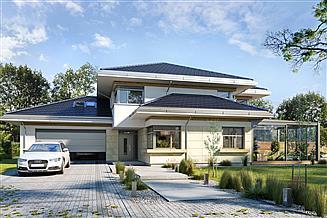 Projekt domu Dom z widokiem 6 B