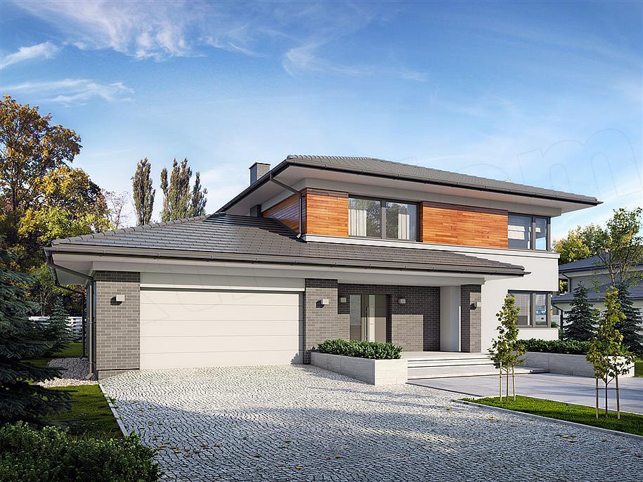 96d6b8770a099c Projekt domu Kleo 185,06 m2 - koszt budowy - EXTRADOM