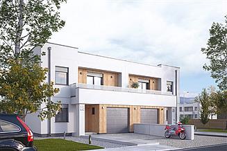 Projekt domu Pistacjowy