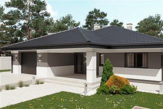 Projekt domu uA8v1