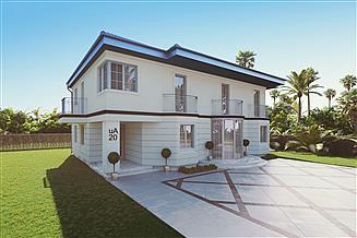 Projekt domu uA20