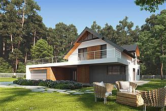 Projekt domu uA21