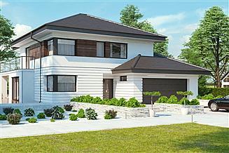 Projekt domu uA23v1