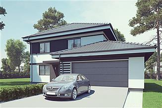 Projekt domu uA41