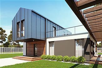 Projekt domu uA45