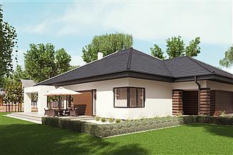 Projekt domu uA46v1