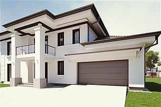 Projekt domu uA50