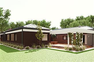 Projekt domu uA51
