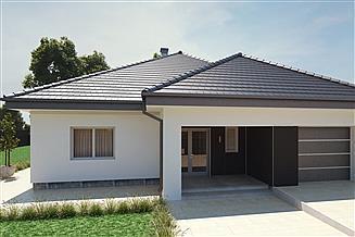 Projekt domu uA18v2