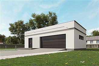Projekt garażu uAG2