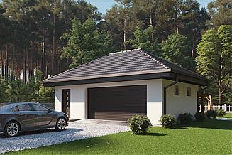 Projekt garażu uAG1