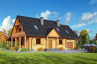 Projekt domu Hoczew 17 dw
