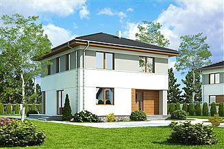 Projekt domu Tadeusz bez garażu [B]