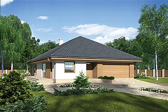 Projekt domu Murator M212a Piasek pustyni - wariant I