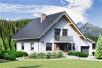 Projekt domu Dom przy Oliwkowej 5 NH