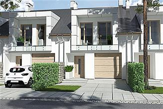 Projekt domu Diana 2 segment lewy